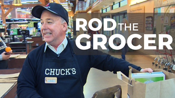 Rod on the Job: Grocer at Chuck's Produce & Street Market