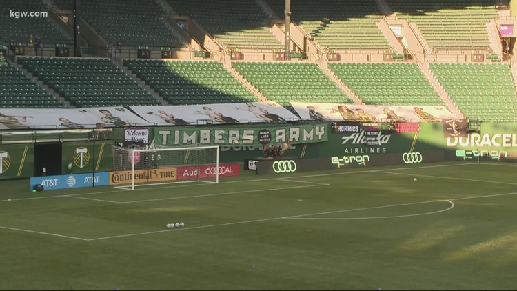 Timbers, Thorns to have fans at matches starting April 9 under Oregon's new guidance for outdoor events