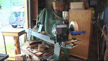 Washougal woodworker uses wood and words to spread a message of hope