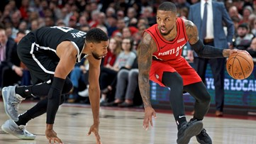 Lillard scores franchise-high 60 points, but Blazers lose to Nets 119-115