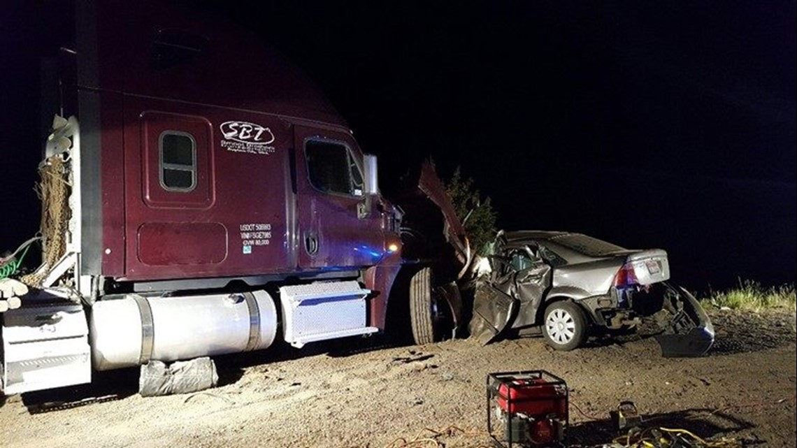 Jury orders trucking companies, drivers to pay $26.5M for fatal road rage crash in Eastern Oregon