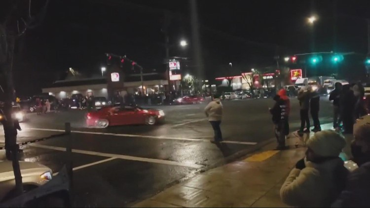 Portland police announce a new crackdown on street racing