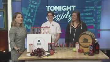 Blue Star Donuts & Portland Cider Co. team up for Blueberry Bourbon Basil Cider