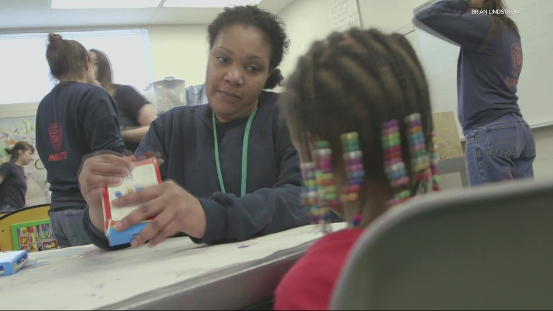 A program that helps keeps inmates and their children connected is in jeopardy due to funding