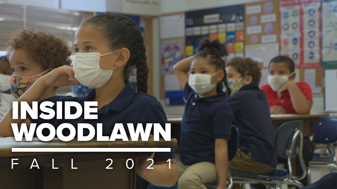 Woodlawn Elementary students return to in-person learning with new challenges