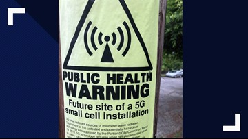 VERIFY: Are the public health warning signs about 5G real?