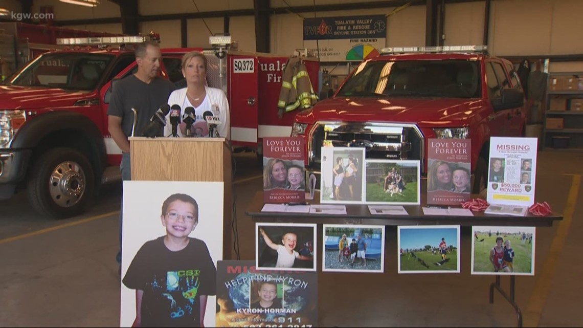2019: Kyron Horman search area narrowed to less than 100 acres says mom Desiree Young