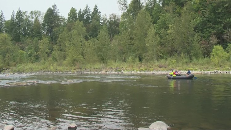Let's Get Out There: Rafting the Clackamas River