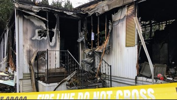 Beaverton family hopes to find dog missing since mobile home fire