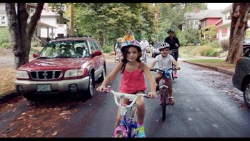 Bikes take over North Portland for Sunday Parkways
