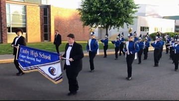 'These students deserve a chance to shine': Canby High band accepts Rose Festival invitation