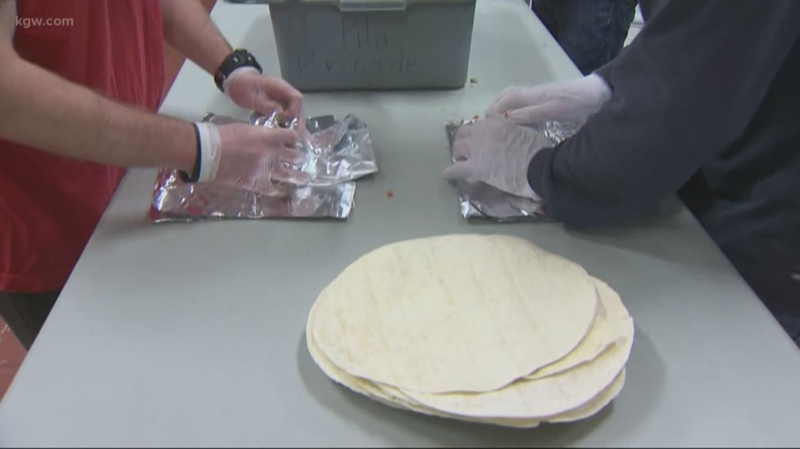 'A full meal for someone': Portland Burrito Brigade on a mission to feed those in need