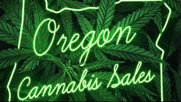 Here are the Oregon counties where people buy the most cannabis