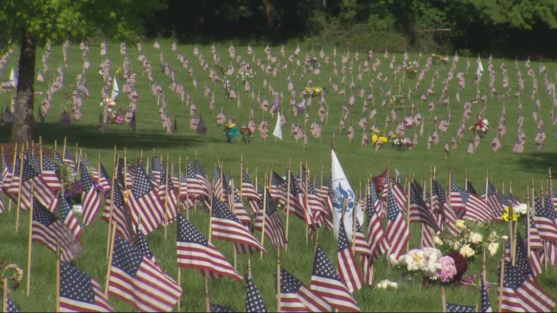 Remembering the fallen at Willamette National Cemetery