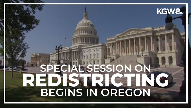 Oregon lawmakers meet to discuss redrawing congressional districts