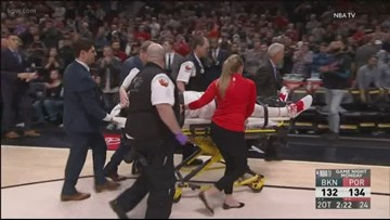 Fans, players offer prayers,  encouragement to injured Nurkic