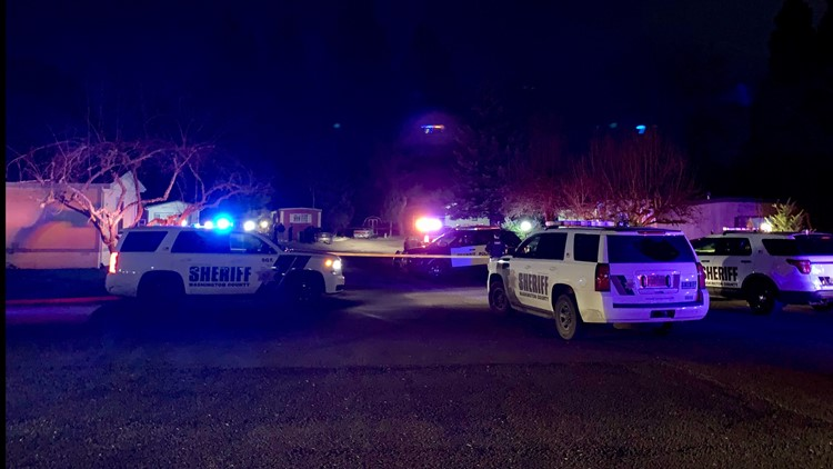 Homicide investigation underway at the Pine Ridge Mobile Park in Aloha