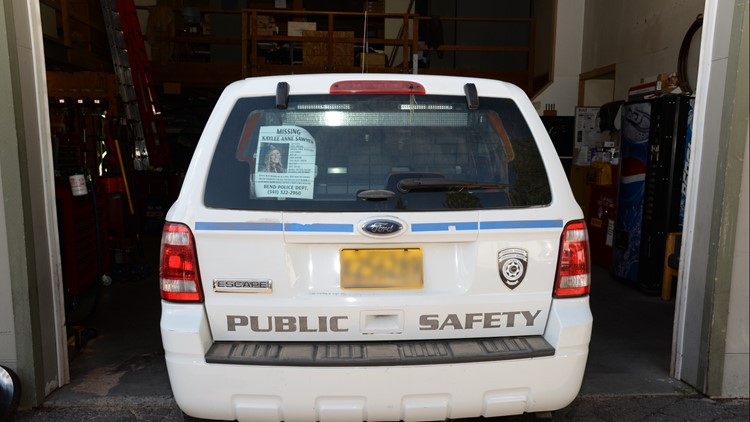 Edwin Lara's COCC-issued public safety car. You can see the partition separating the front seats from the back.