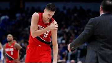 Blazers starting forward Zach Collins to have surgery on injured shoulder
