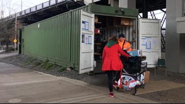 Years later, Portland's experiment to help homeless store stuff proves a success