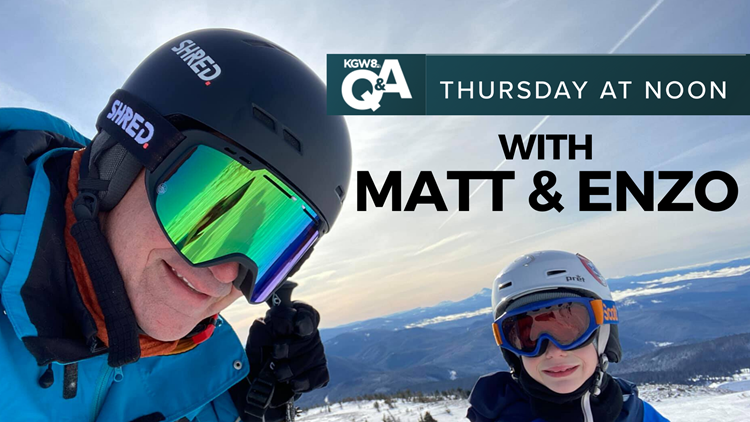 KGW Digital Q&A   Answering your weather questions with Matt Zaffino (and his son Enzo)