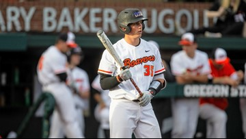 Beavers' Adley Rutschman goes No. 1 in MLB draft to Baltimore Orioles