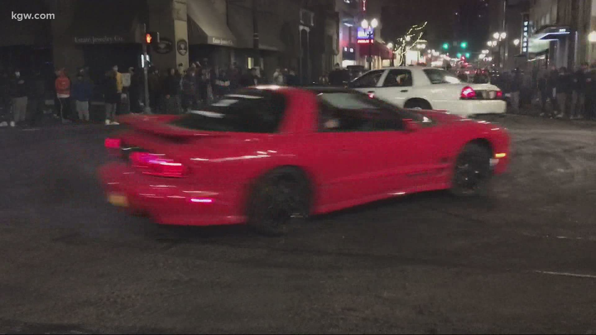 Portland Police Arrest 14 In Street Racing Crackdown Kgw Com