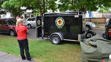 Trailer stolen from Boy Scout troop found in Southeast Portland