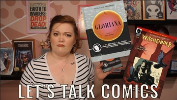Let's talk comics: Gloriana and Witchfinder