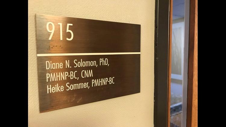 Diane Solomon placard