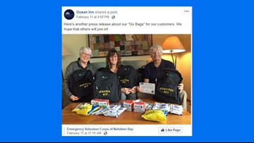 Tsunami 'Go Bags' being offered by Oregon coast hotel