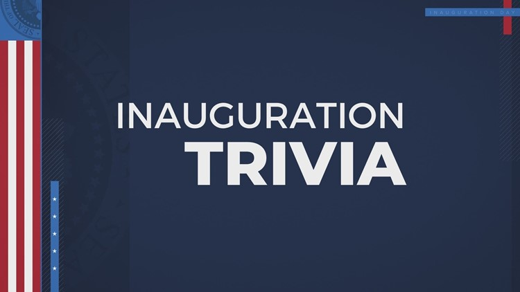 TRIVIA: Test your Inauguration Day knowledge