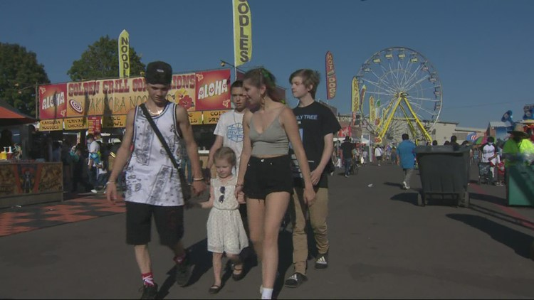 Outdoor mask mandate a challenge for Oregon State Fair