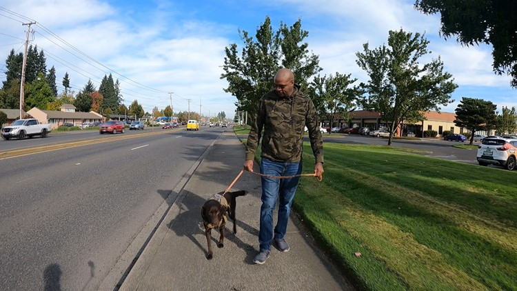 Battle Ground nonprofit provides service dogs for veterans