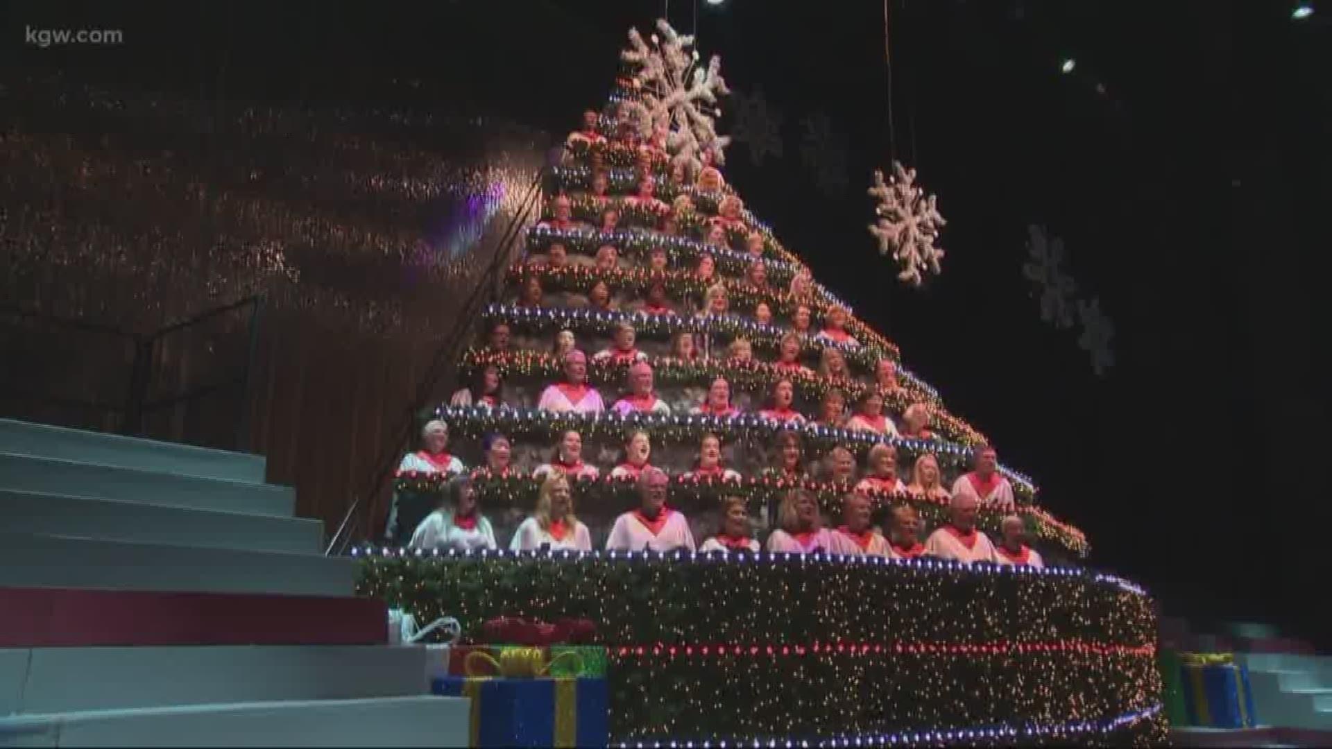 Get ready for Portland's Singing Christmas Tree | kgw.com