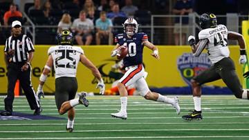 Auburn scores game-winning touchdown in final seconds, beats Oregon 27-21