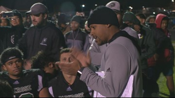 Parkrose hero Keanon Lowe named new football coach at West Linn High School