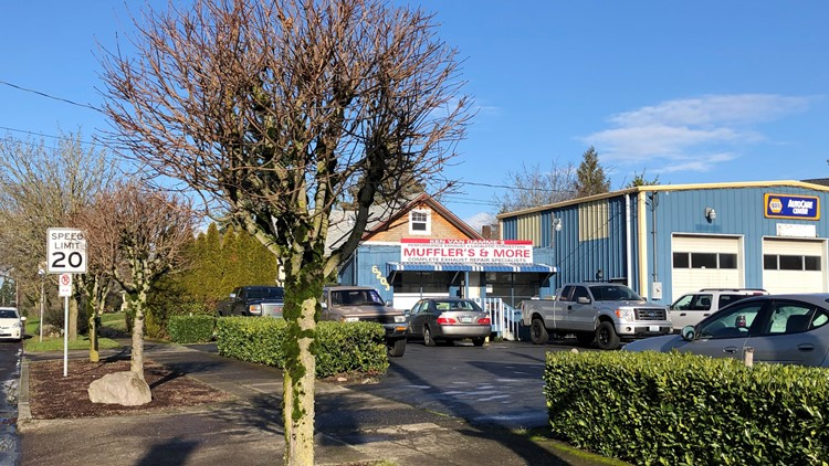 'Dangerous' trees? Portland demands local business cut down 12-foot trees