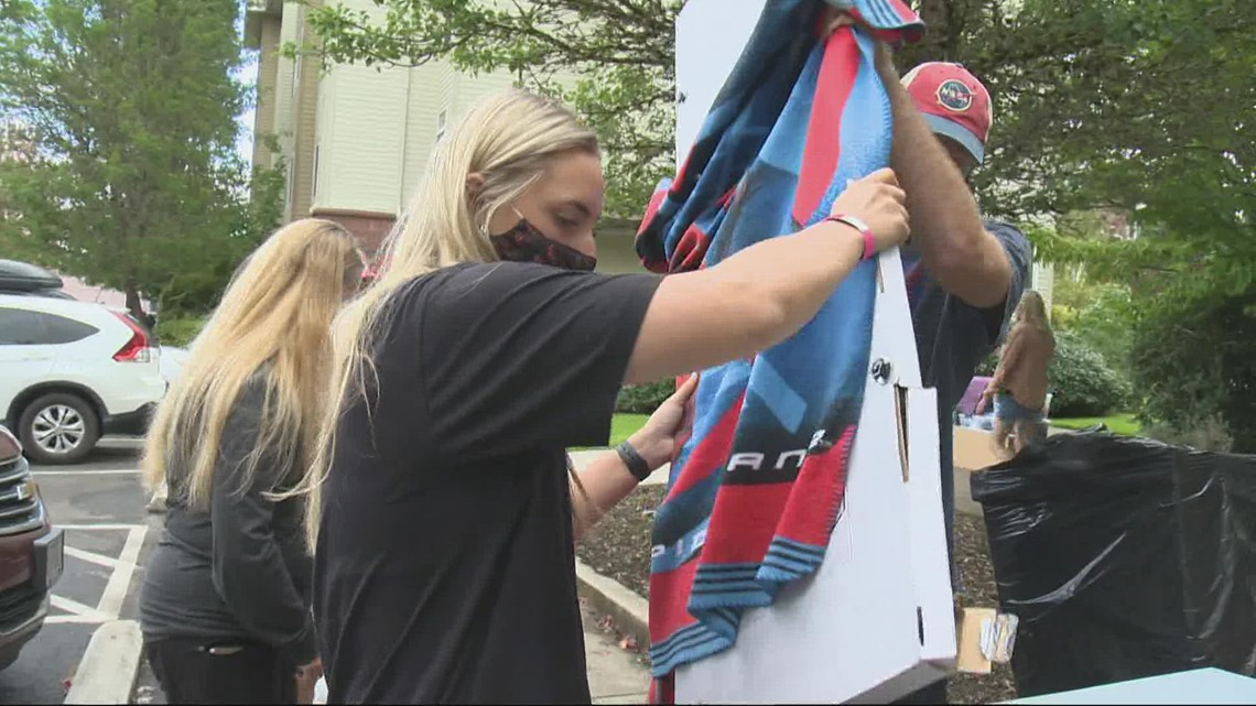 Move-in day for Oregon State students now includes COVID tests