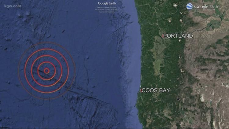 6.3 earthquake hits off Southern Oregon coast