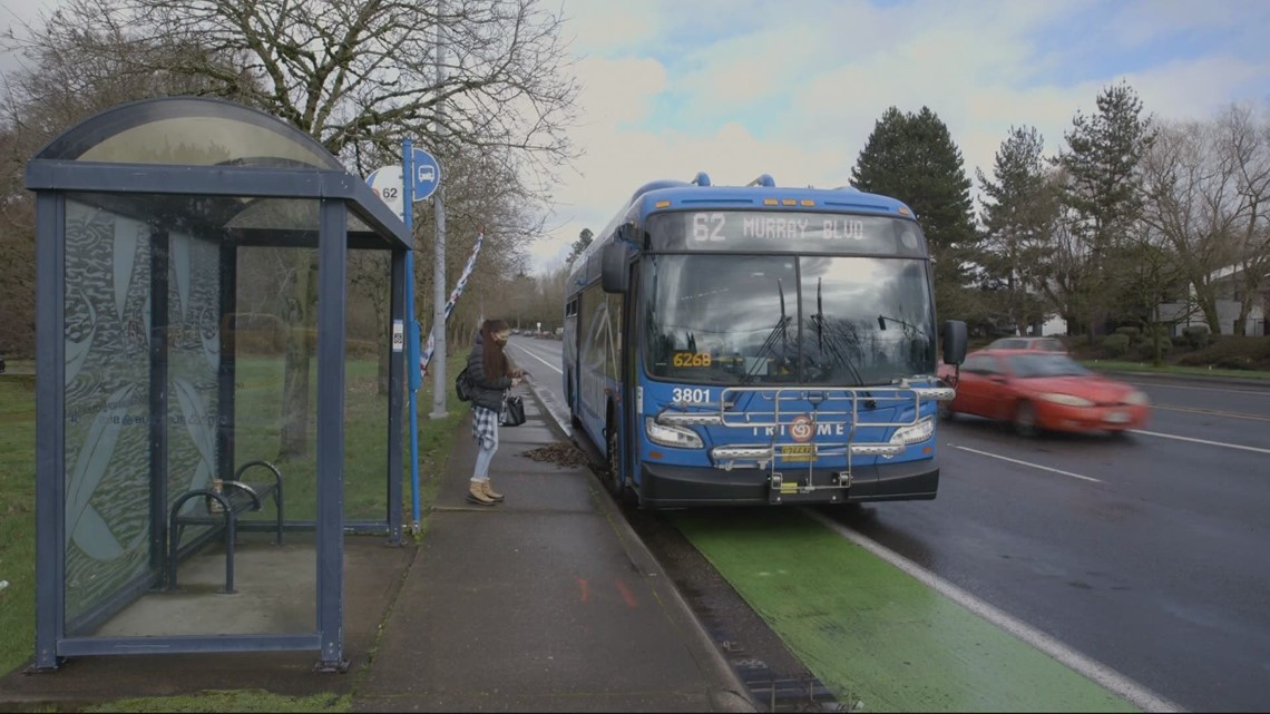 COVID bus restrictions means people are being left at the curb