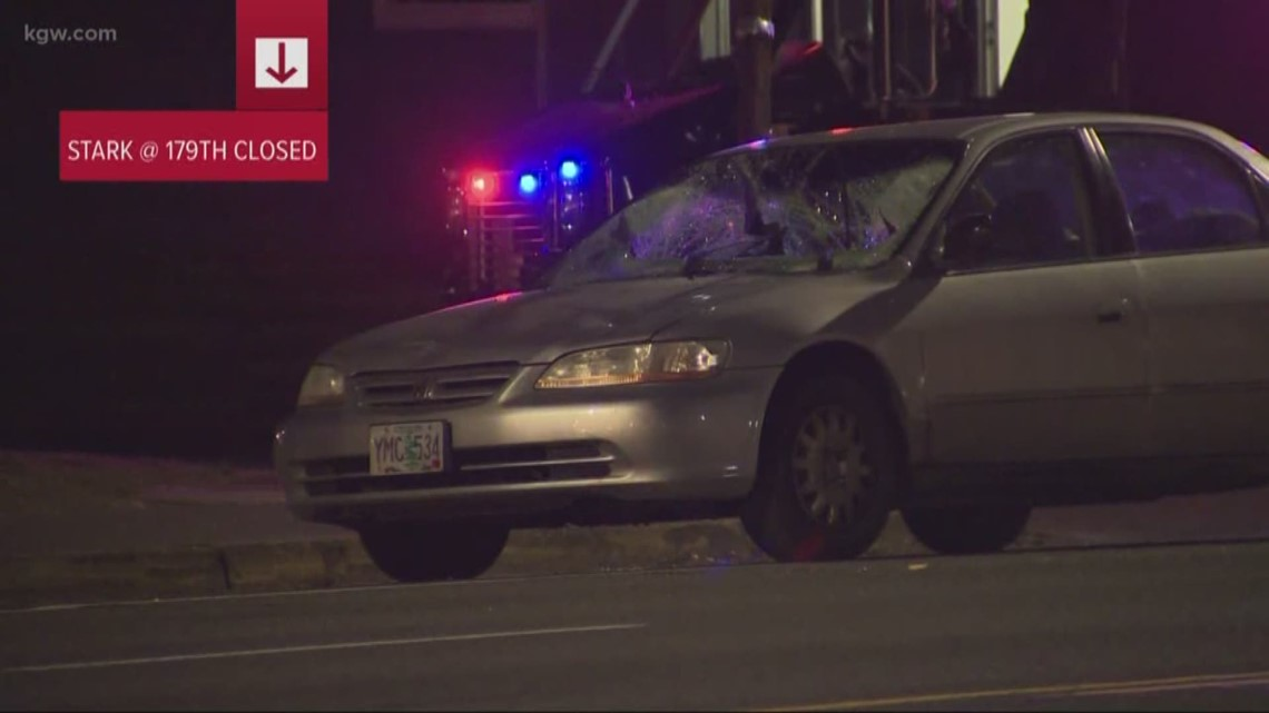 Vehicle hits two pedestrians on SE Stark Street in Gresham; driver investigated for impairment