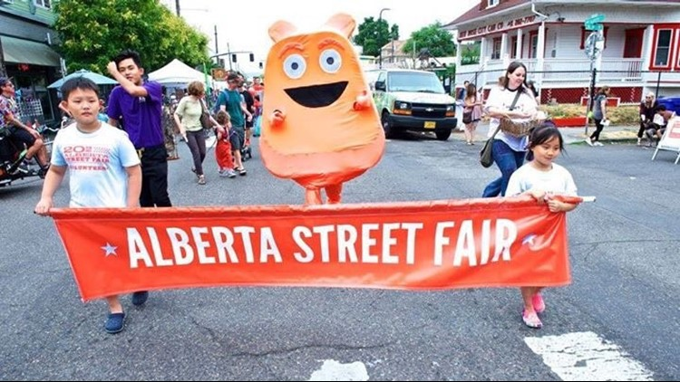 Alberta Street Fair