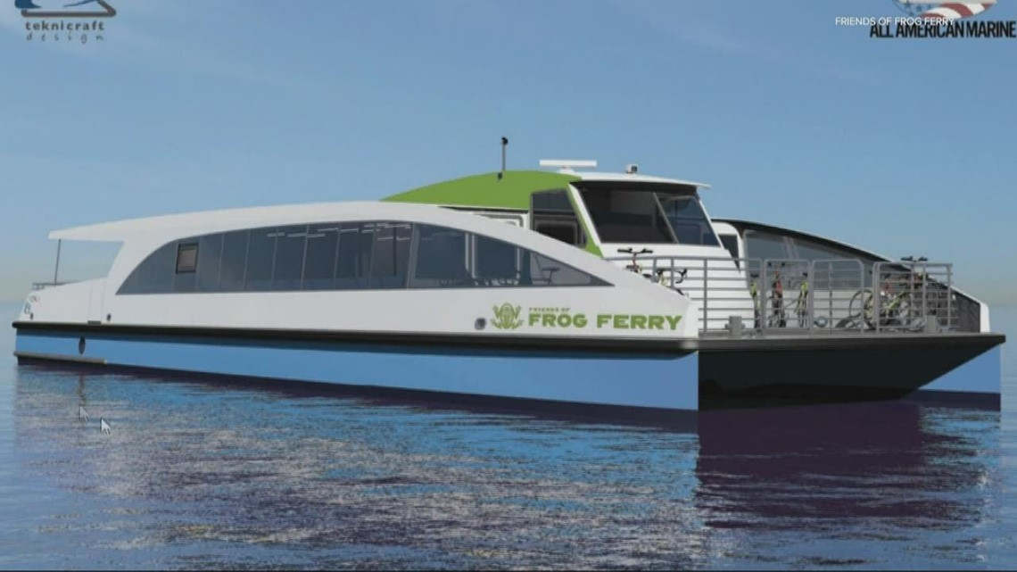Ferry service will connect North Portland to downtown in 2022