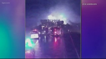 Two killed in fiery crash on Newberg-Dundee Bypass