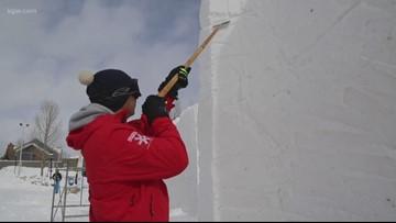 Matt visits the International Snow Sculpture Championships