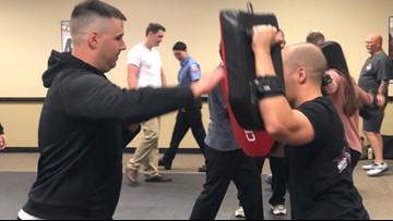 Portland paramedics and EMTs train in self-defense after recent attacks