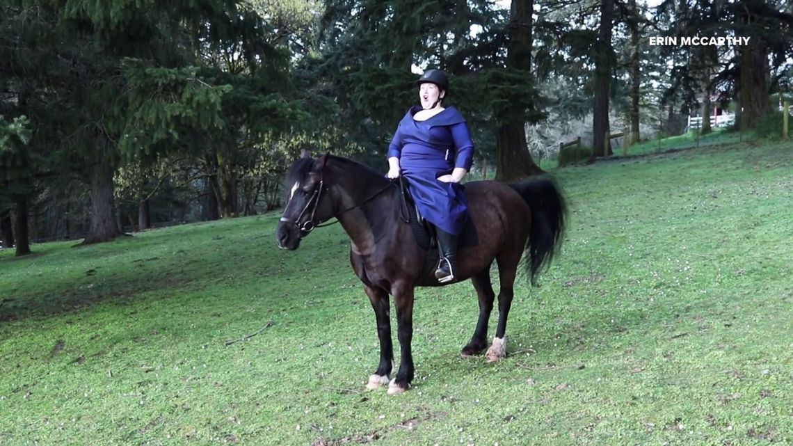 Newberg opera singer performs on horseback for America's Got Talent