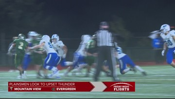 Highlights: Evergreen upsets Mountain View 40-35