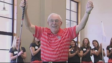 Dedicated Beaver fan gets surprise for 100th birthday